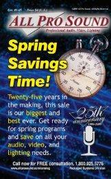 SALE! $38 - All Pro Sound