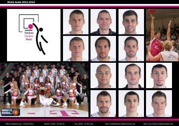 Media Guide 2011/2012 - Telekom Baskets Bonn