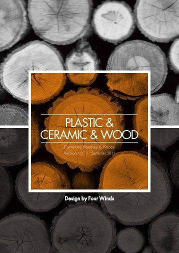 Plastic_Ceramic_Wood Handle&Knob(4winds)