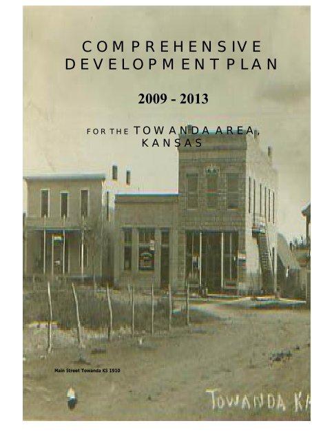 COMPREHENSIVE DEVELOPMENT PLAN 2009 - 2013