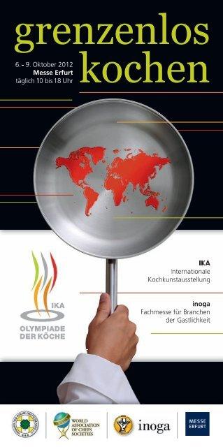 6.-9. Oktober 2012, Messe Erfurt - IKA