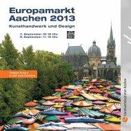 pdf, 5 mb - Europamarkt Aachen