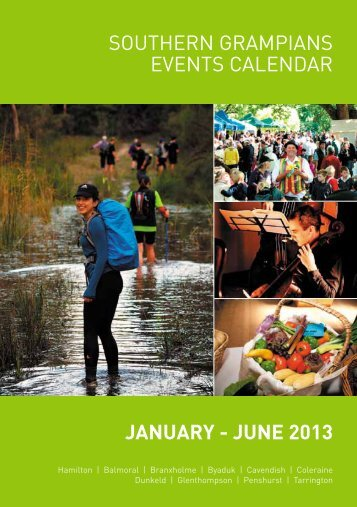 JANUARY - JUNE 2013 Southern GrampianS eventS calendar