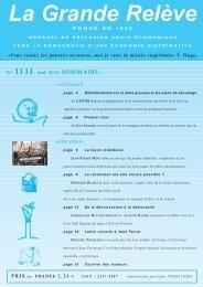 N° 1131 mai 2012 - Association pour l'Économie Distributive