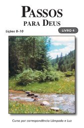 Passos para Deus- Livro 4.pdf - El Cristianismo Primitivo