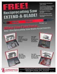 extend-a-blade! - Chromate Industrial Corporation