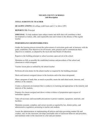 Secretary Job Description Board Secretary Job Description