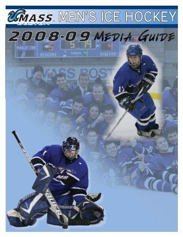 2008-09 UMass Boston Men's Ice Hockey Media Guide ... - Community