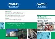 Epinamel High Performance Epoxies Brochure - Wattyl Web ...