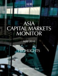 ASIA CAPITAL MARKETS MONITOR - AsianBondsOnline - Asian ...