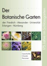 Chronik 2004 - Botanischer Garten Erlangen - Friedrich-Alexander ...