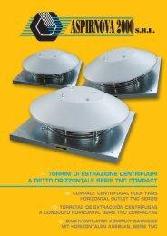 torrini di estrazione centrifughi a getto orizzontale serie tnc ... - Certus