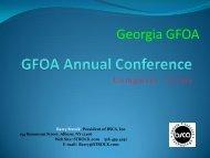 GFOA Annual Conference