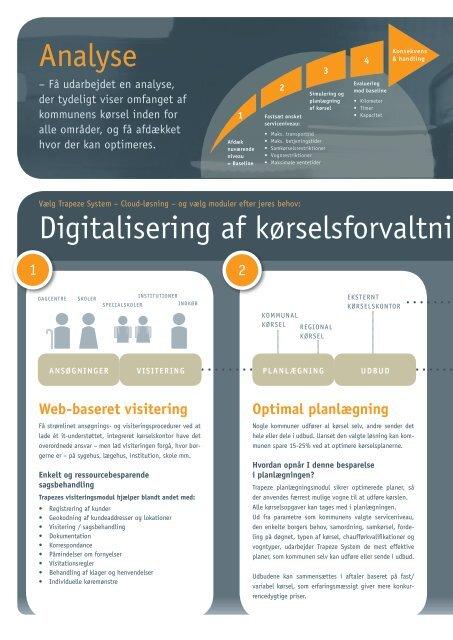 Digitalisering og IT skaffer besparelse i kommunal ... - Trapeze Group