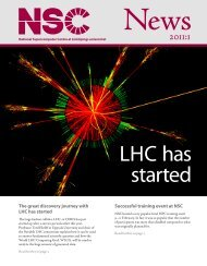NSC News, issue 2011:1
