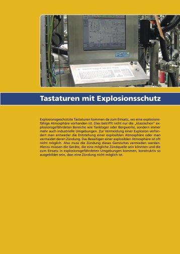 Tastaturen mit Explosionsschutz - InduKey