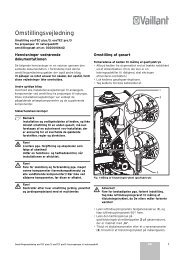 Luft/avgass ecoTEC plus - Vaillant