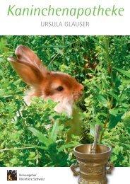 Kaninchenapotheke - Kleintiere Schweiz