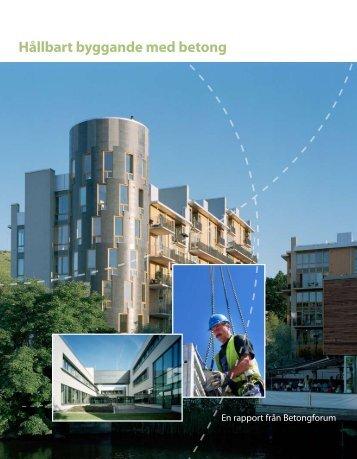 HÃ¥llbart byggande med betong - Finja
