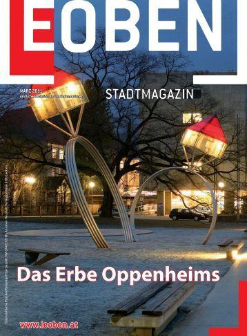 Das Erbe Oppenheims - Stadtgemeinde Leoben