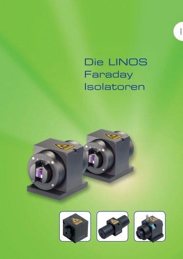 Die LINOS Faraday Isolatoren - Qioptiq Q-Shop