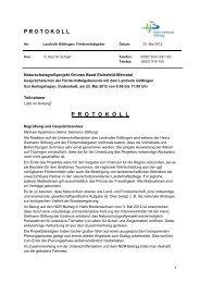 Protokoll zur Veranstaltung (PDF - Das Naturschutzgroßprojekt ...
