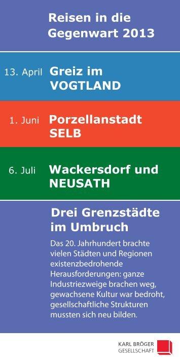 Reisen in die Gegenwart 2013_screen - Karl-Bröger-Gesellschaft