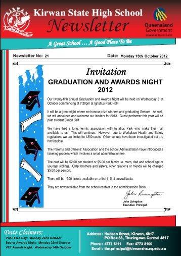 Newsletter_no_21_15-October-2012 - Kirwan State High School