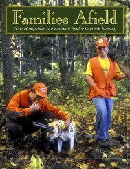 Families Afield - New Hampshire Fish and Game Department