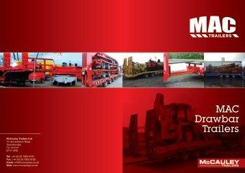 Download MAC Drawbar Brochure - MAC Trailers