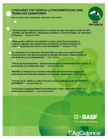 TTULO DO PROJETO: Racionalizao do uso de fungicidas na ... - Basf