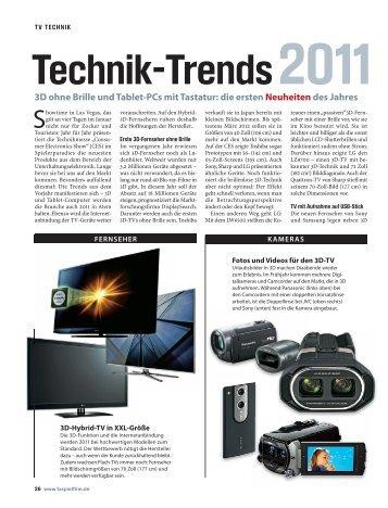 3D ohne Brille und Tablet-PCs mit Tastatur: die ersten Neuheiten ...