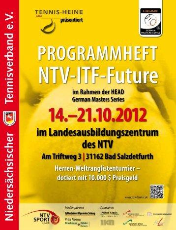 NTV-ITF-Future - Niedersächsischer Tennisverband e.V.