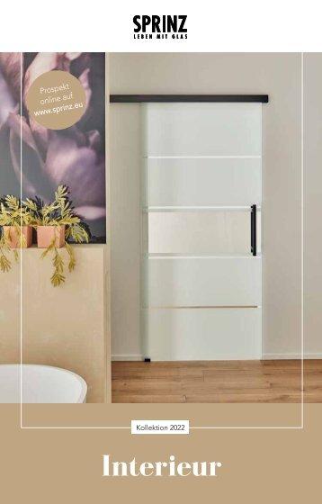Sprinz Glastüren Interieur Design