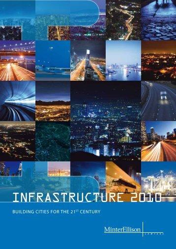 INFRASTRUCTURE 2010 - Minter Ellison
