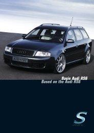 Basis Audi RS6 Based on the Audi RS6 - Sportec