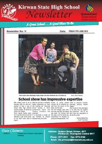 Newsletter-no-12-8-June-2012 - Kirwan State High School