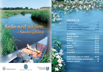 Sejle ned ad åen - Tønder Kommune