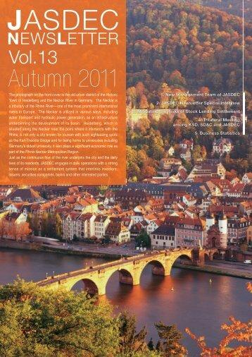 Vol. 13, Autumn 2011