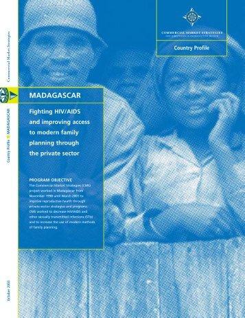 CMS.15 Madagascar profile.MECH - (SHOPS) project