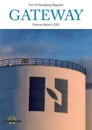 Port of Helsingborg Magazine Summer/Autumn 2002 - Helsingborgs ...