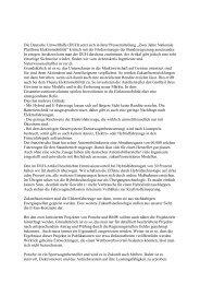 Antwort des AIN - Fachbereich Medien, Kunst und Industrie - Ver.di