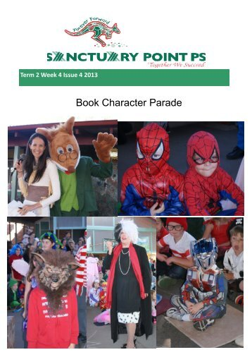 Book Character Parade - Sanctuary Point Public School