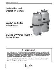 Jandy CL & CV - Home - Swimming Pool Parts Filters Pumps ...