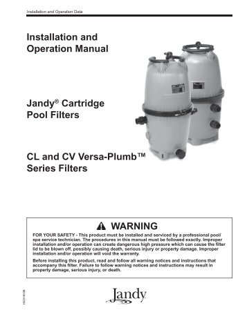 Jandy Cl Series Cartridge Filter Inyo Swimming Pool Products