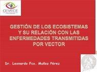 Gestión de los Ecosistemas y su relación con las Enfermedades ...