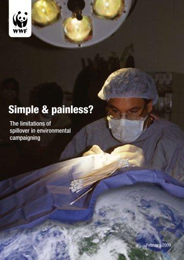 Simple & painless? - WWF UK