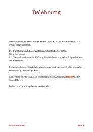 Garagentoröffner Anleitung.pdf - A1talk.de
