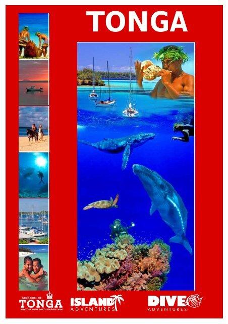 Tonga Brochure - Dive Adventures
