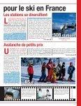 Le ski, plus souvent, moins longtemps - Watine Taffin - Page 7